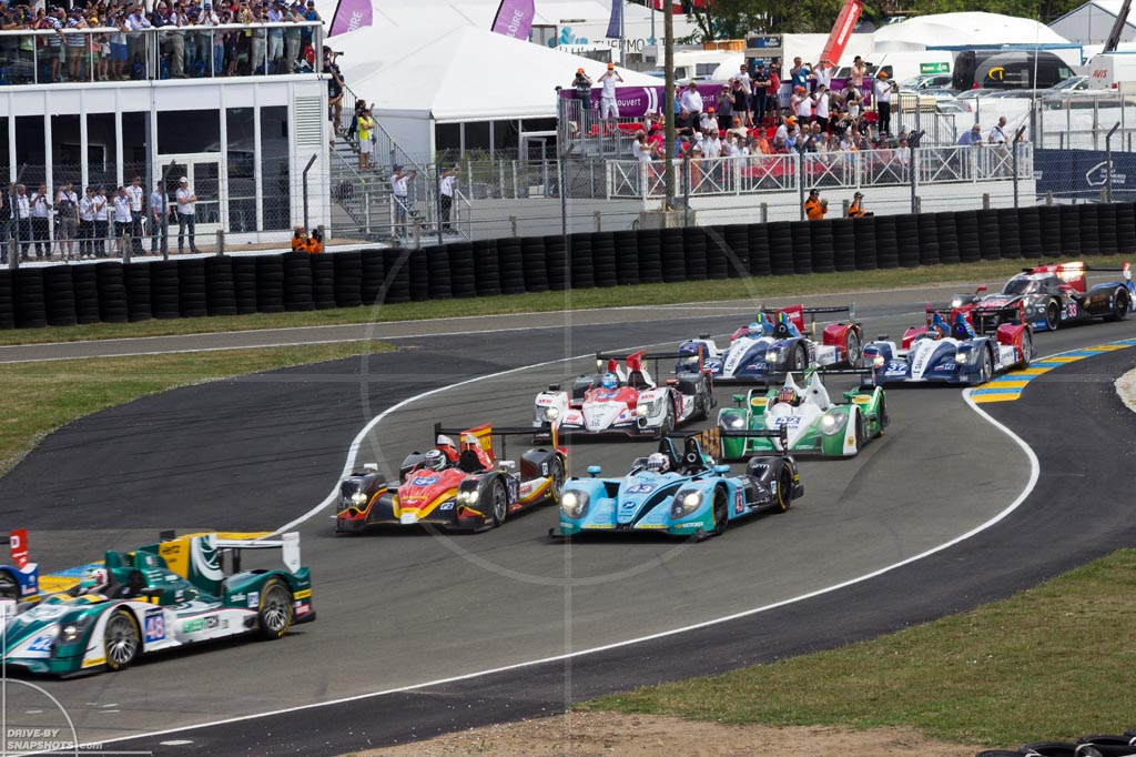 24h du Mans Starting Grid | Drive-by Snapshots by Sebastian Motsch (2014)
