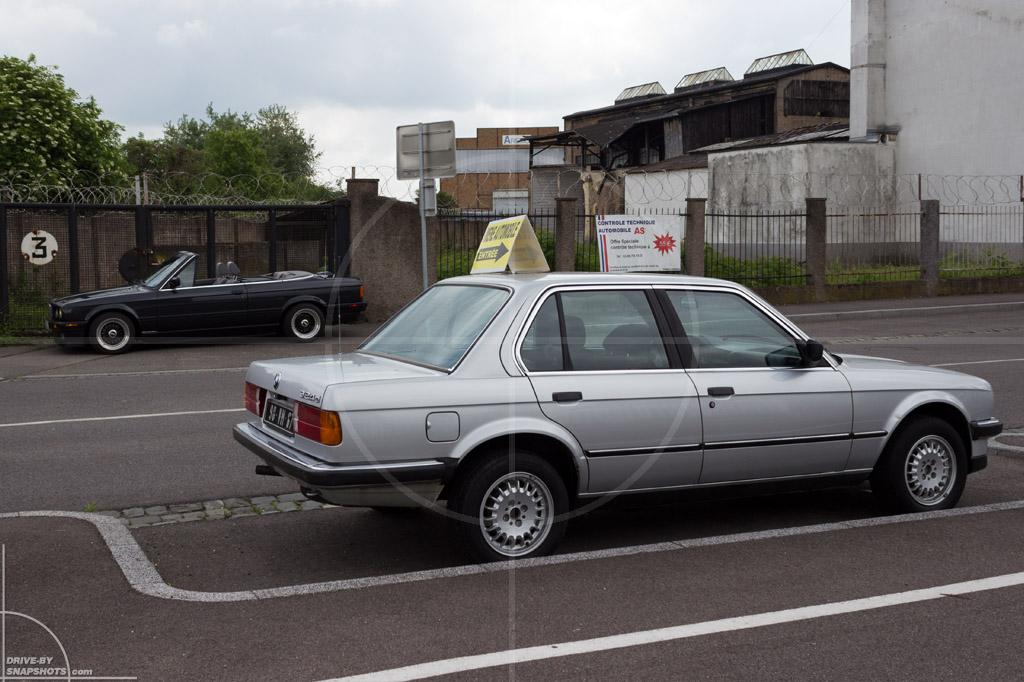BMW E30 324d Strasbourg | Drive-by Snapshots by Sebastian Motsch (2014)
