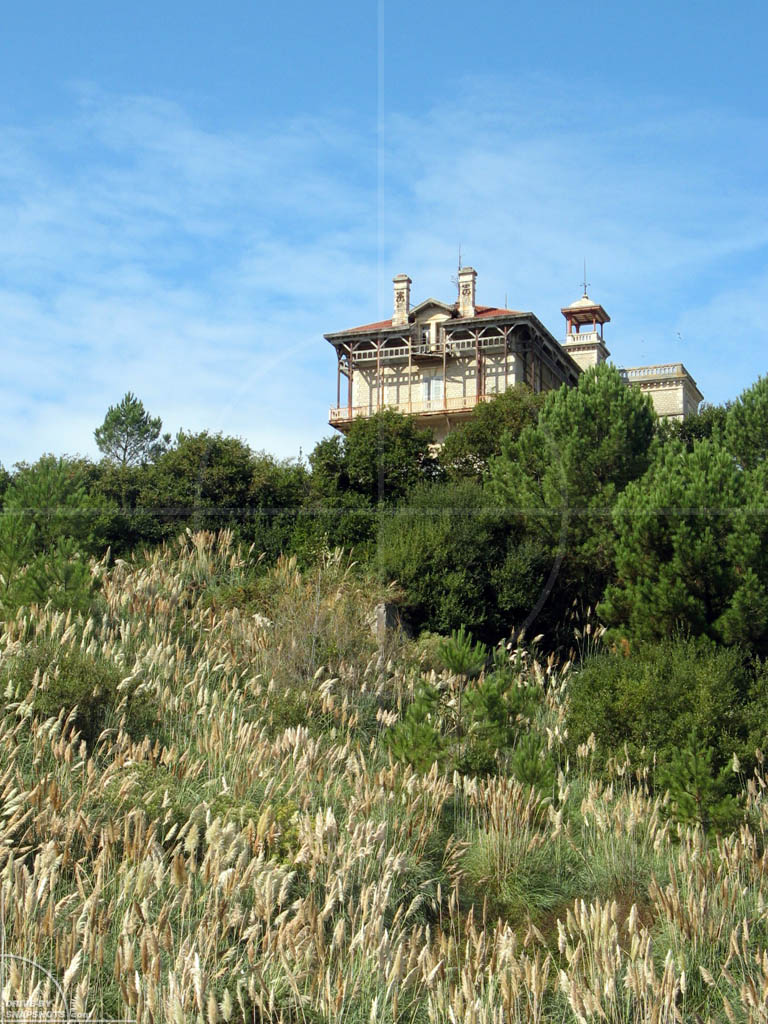 Biarritz Chateau d'Ilbarritz France | Drive-by Snapshots by Sebastian Motsch (2009)