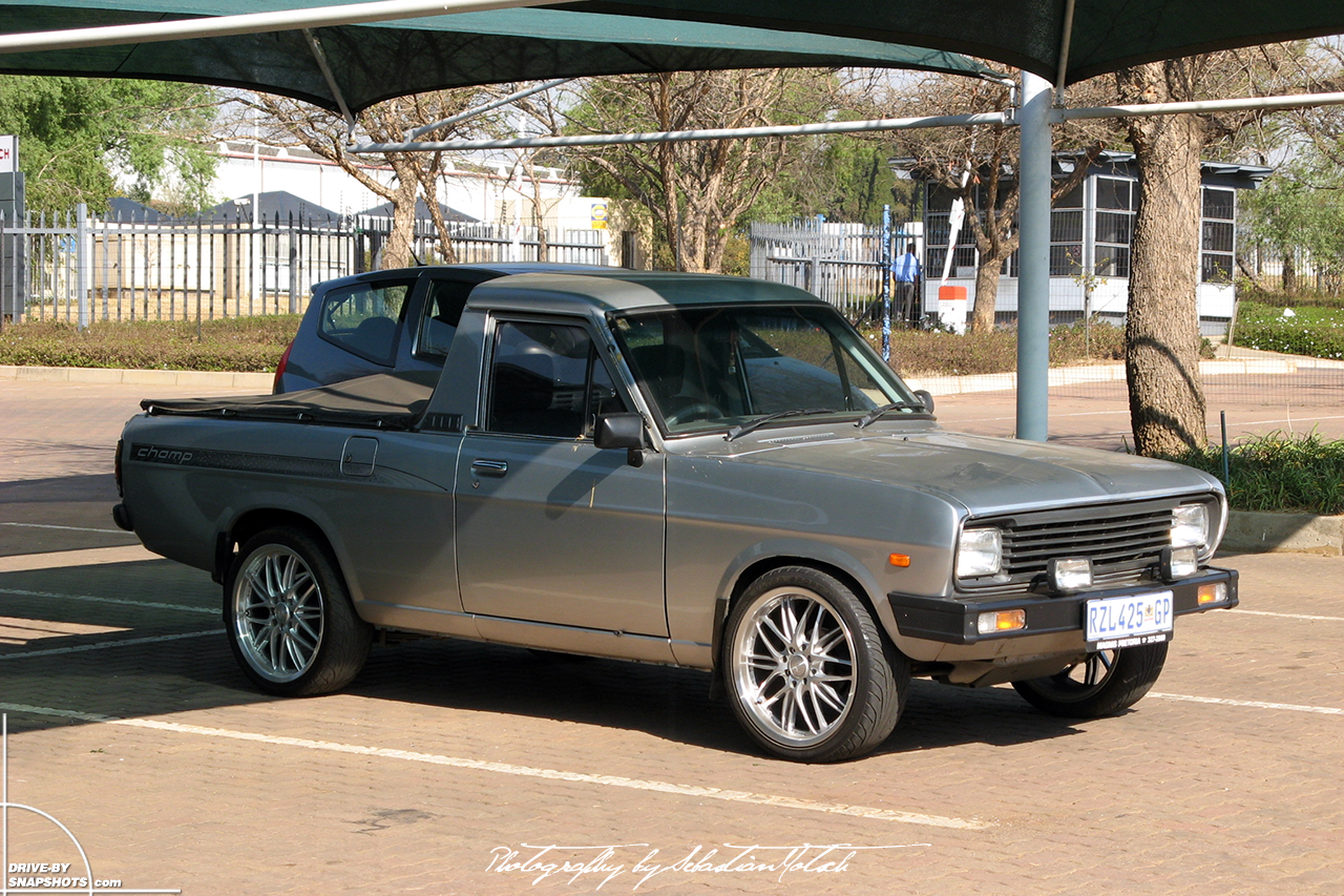 Nissan Bakkie 1400 Pick-up Champ South Africa Midrand | Drive-by Snapshots by Sebastian Motsch (2007)