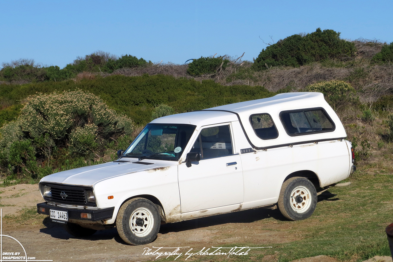 Nissan Bakkie 1400 Pick-up South Africa Capetown Canopy | Drive-by Snapshots by Sebastian Motsch (2012)