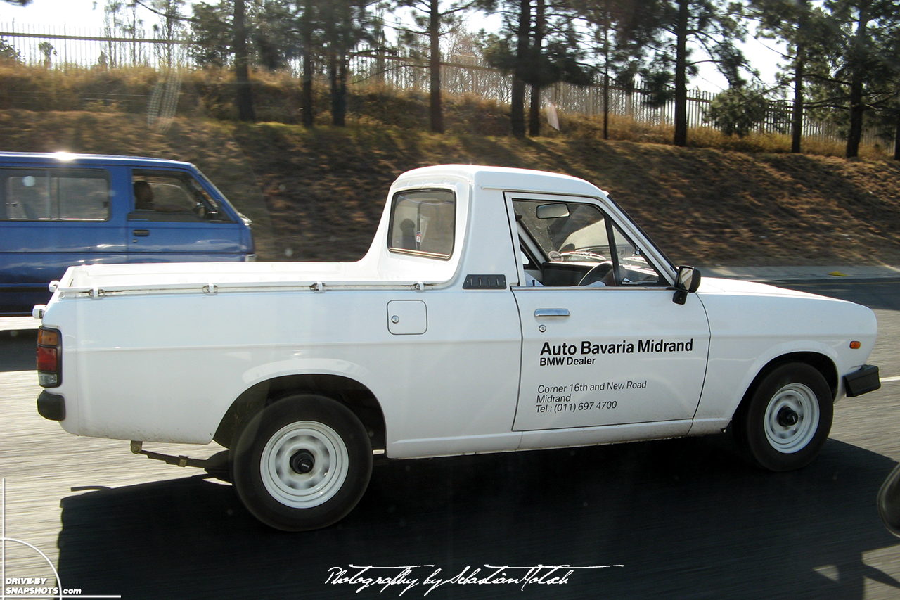 Nissan Bakkie 1400 Pick-up South Africa Midrand BMW Auto Bavaria | Drive-by Snapshots by Sebastian Motsch (2008)