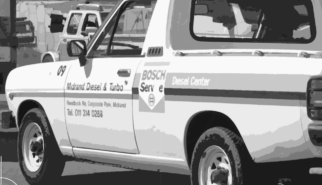 Nissan Bakkie 1400 Pick-up South Africa Midrand Bosch Diesel Center   Drive-by Snapshots by Sebastian Motsch (2008)