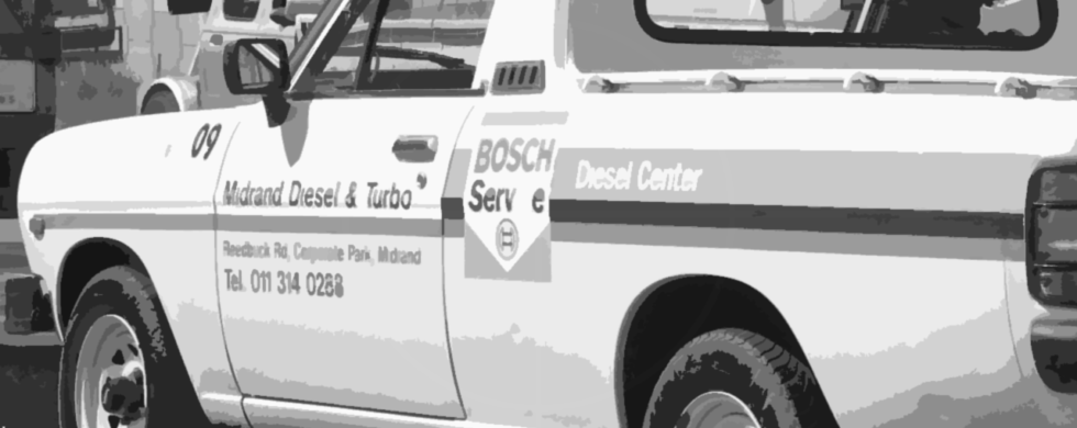 Nissan Bakkie 1400 Pick-up South Africa Midrand Bosch Diesel Center | Drive-by Snapshots by Sebastian Motsch (2008)