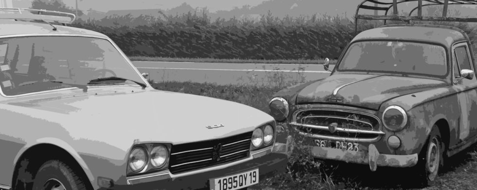 Peugeot 504 Break USDM-spec France | Drive-by Snapshots by Sebastian Motsch (2013)