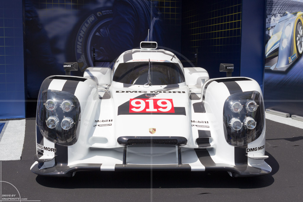 Porsche 919 Hybrid LMP1 Le Mans 2014   Drive-by Snapshots by Sebastian Motsch (2014)