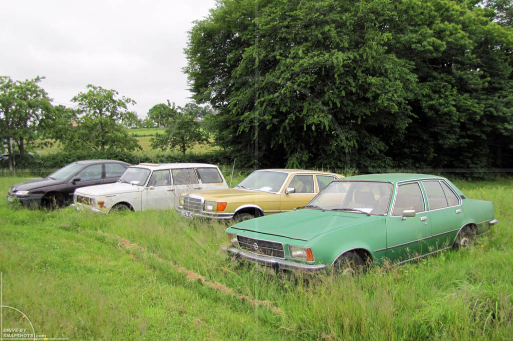 Rust in Peace Germans in France   Drive-by Snapshots by Sebastian Motsch (2010)