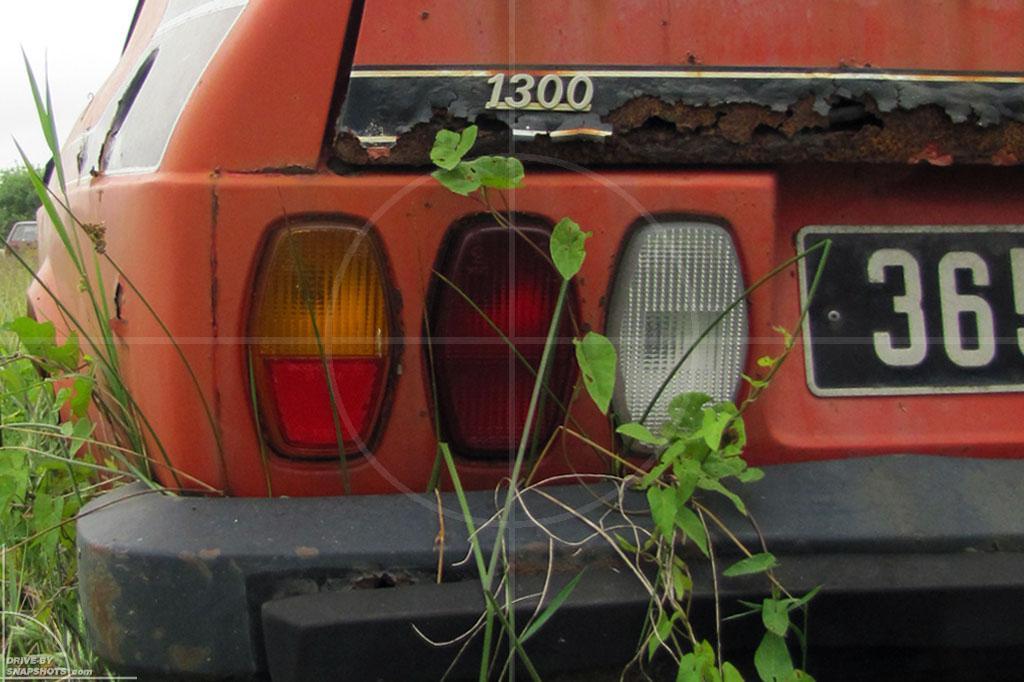 Rust in Peace Italians in France | Drive-by Snapshots by Sebastian Motsch (2010)