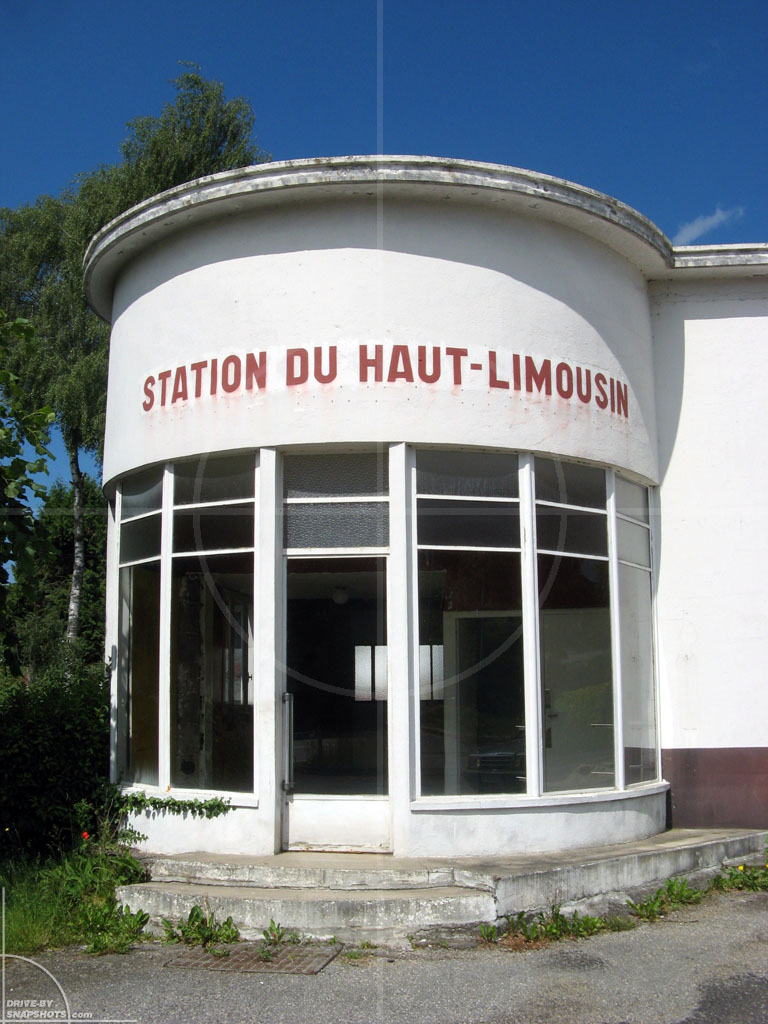 Station du Haut Limousin France | Drive-by Snapshots by Sebastian Motsch (2009)
