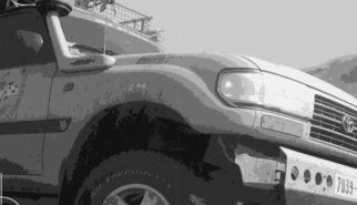 Toyota LandCruiser 80-Series   Drive-by Snapshots by Sebastian Motsch (2009)