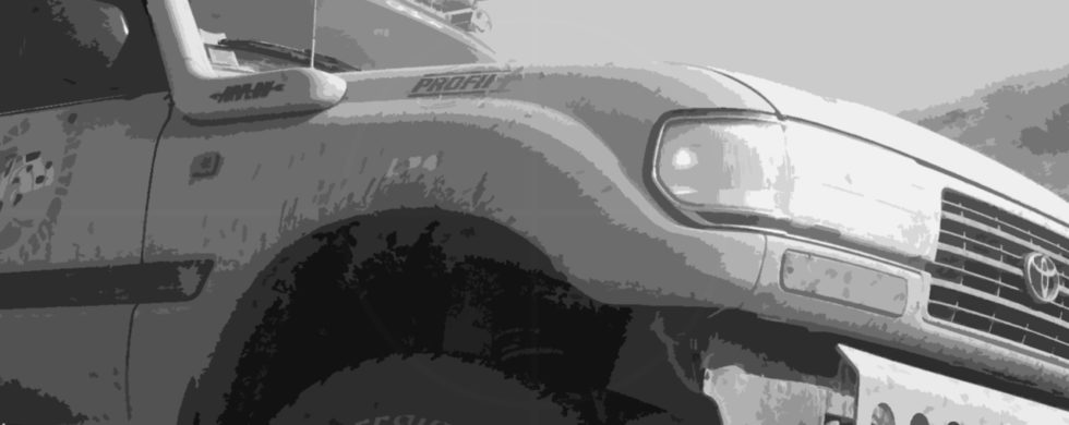 Toyota LandCruiser 80-Series | Drive-by Snapshots by Sebastian Motsch (2009)