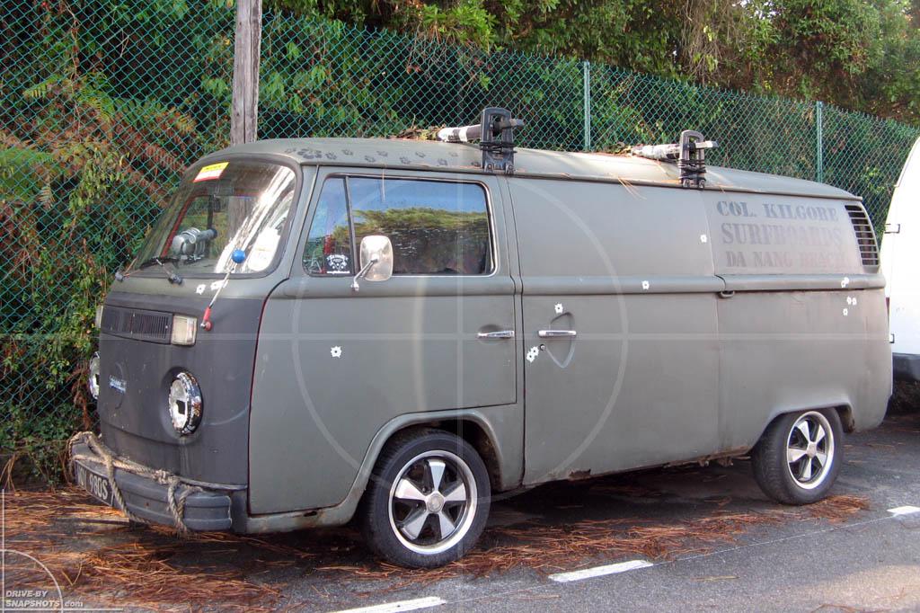 Volkswagen T2b Biarritz France | Drive-by Snapshots by Sebastian Motsch (2009)