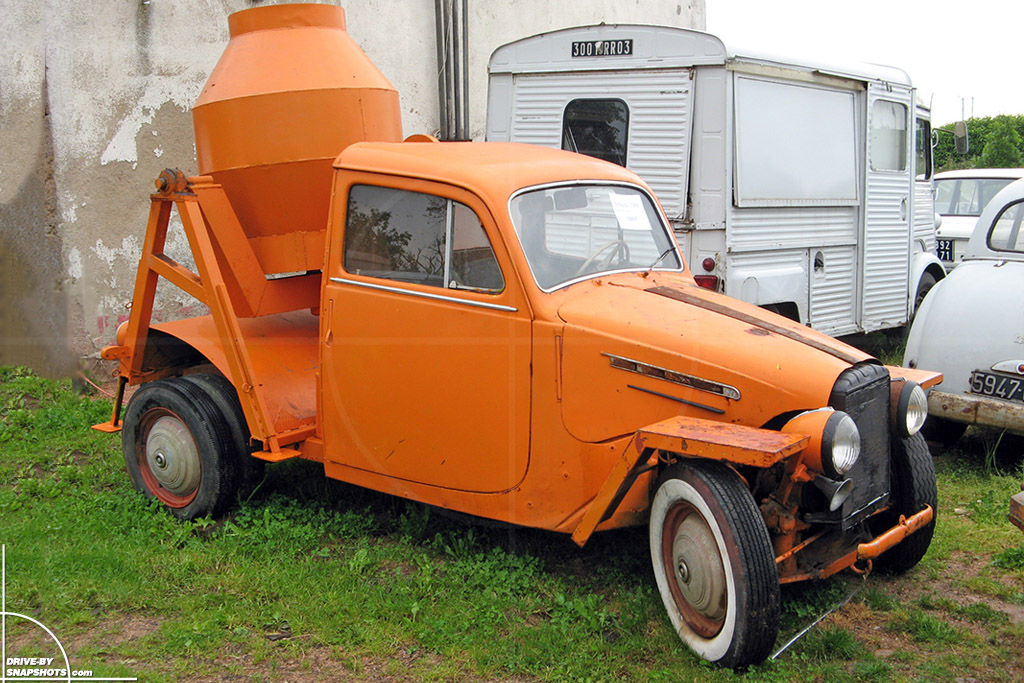 Simca Hot Rod 1955 France Front | Drive-by Snapshots by Sebastian Motsch (2007)