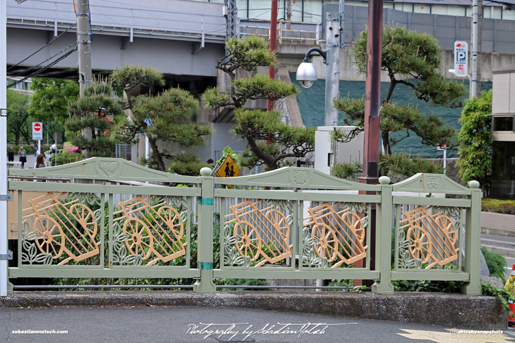 Japan Tokyo Gotanda Ichiba Bridge over Meguro River by Sebastian Motsch