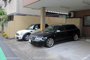 Japan Tokyo Meguro Audi RS4 and Mini Cooper by Sebastian Motsch