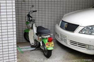 Japan Tokyo Meguro Custom Scooter by Sebastian Motsch