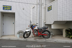 Japan Tokyo Meguro Honda Motorcycle Scrambler Style by Sebastian Motsch