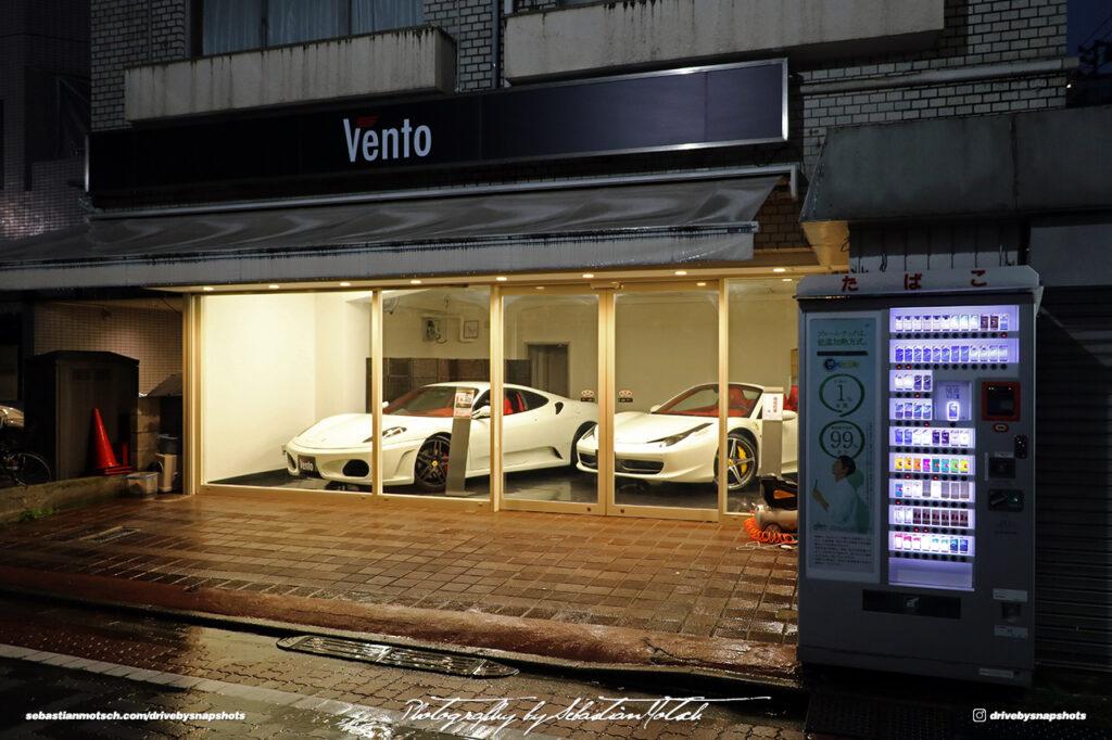 Japan Tokyo Shiba Vento Ferrari by Sebastian Motsch