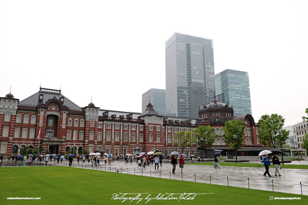 Tokyo Station Japan by Sebastian Motsch