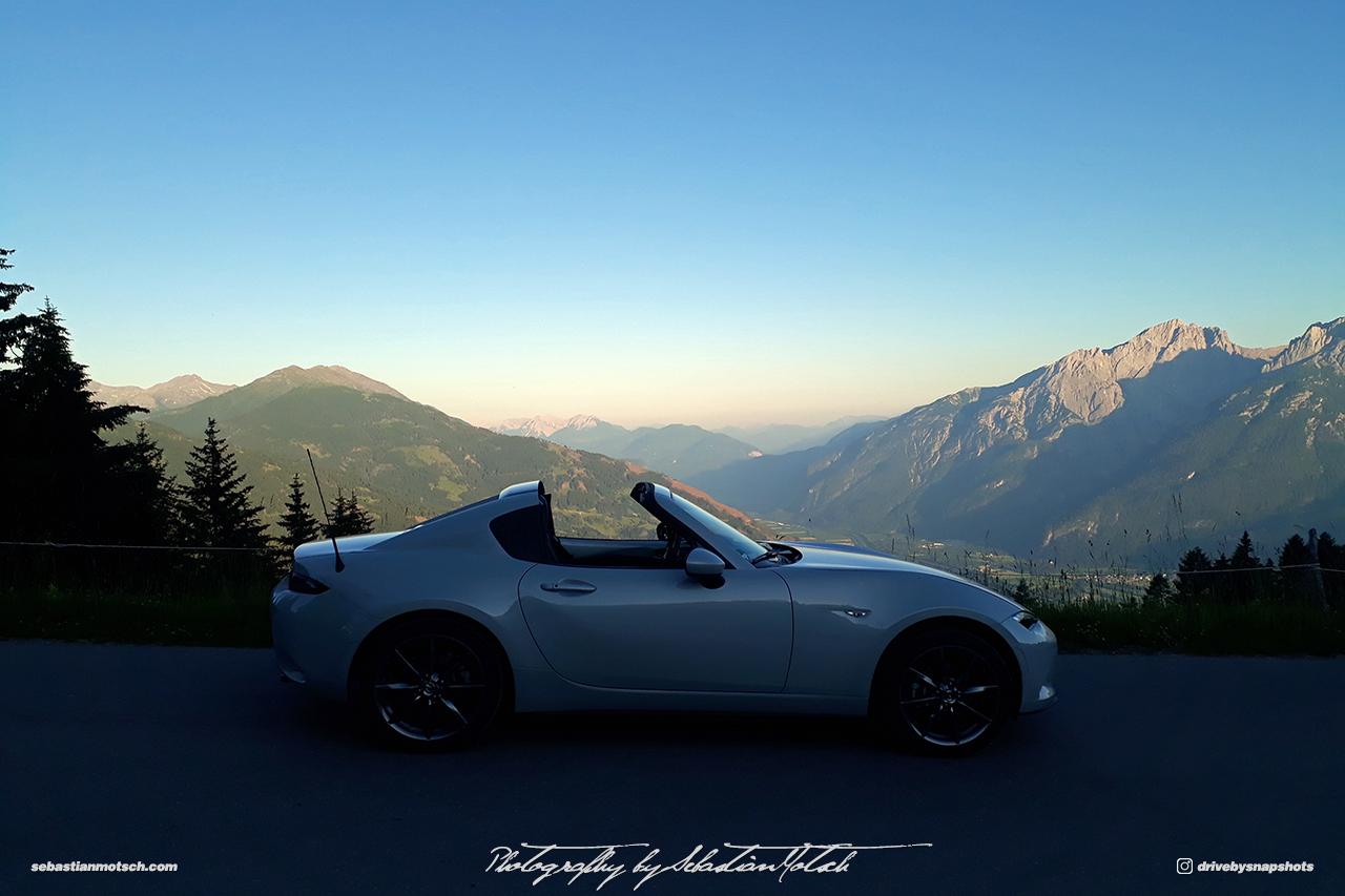 Mazda MX5 RF Austria Faschingalm Drive-by Snapshot by Sebastian Motsch