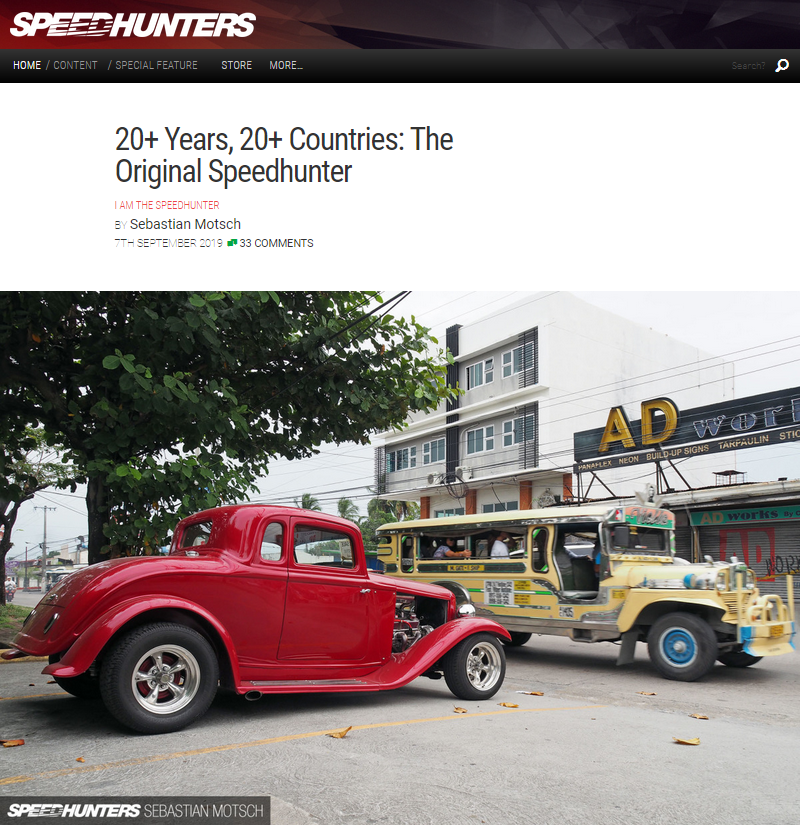 001 The Original Speedhunter 20+ Years 20+ Countries