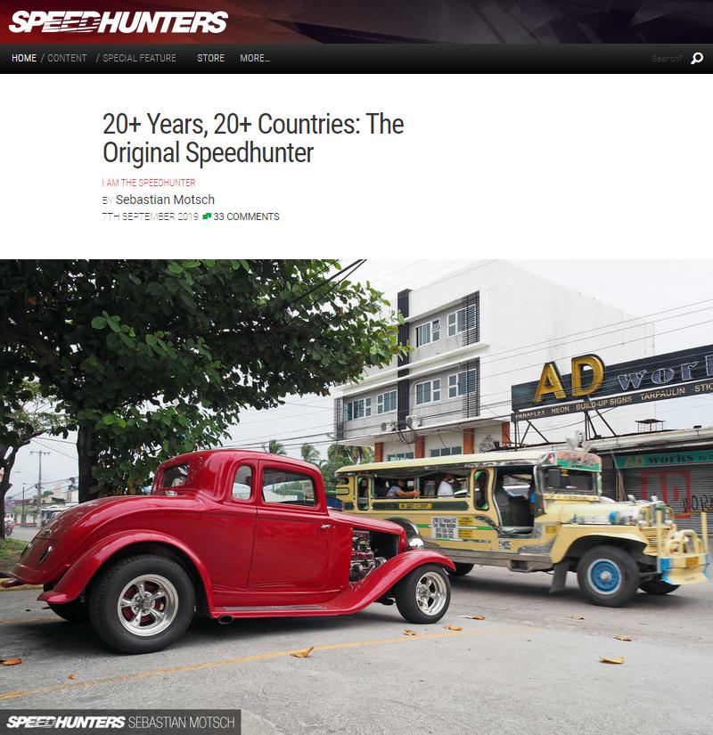 001 The Original Speedhunter 20+ Years 20+ Countries