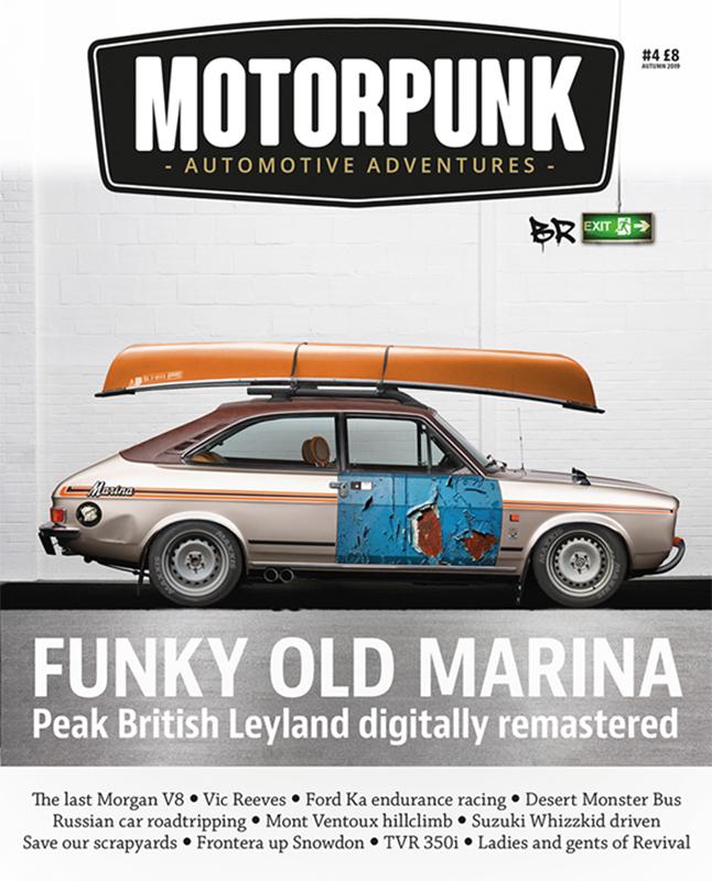 MotorPunk Magazine Issue 4 2019