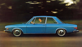 Audi 100 C1 2-Door USDM | Photoshop Chop by Sebastian Motsch (2019)
