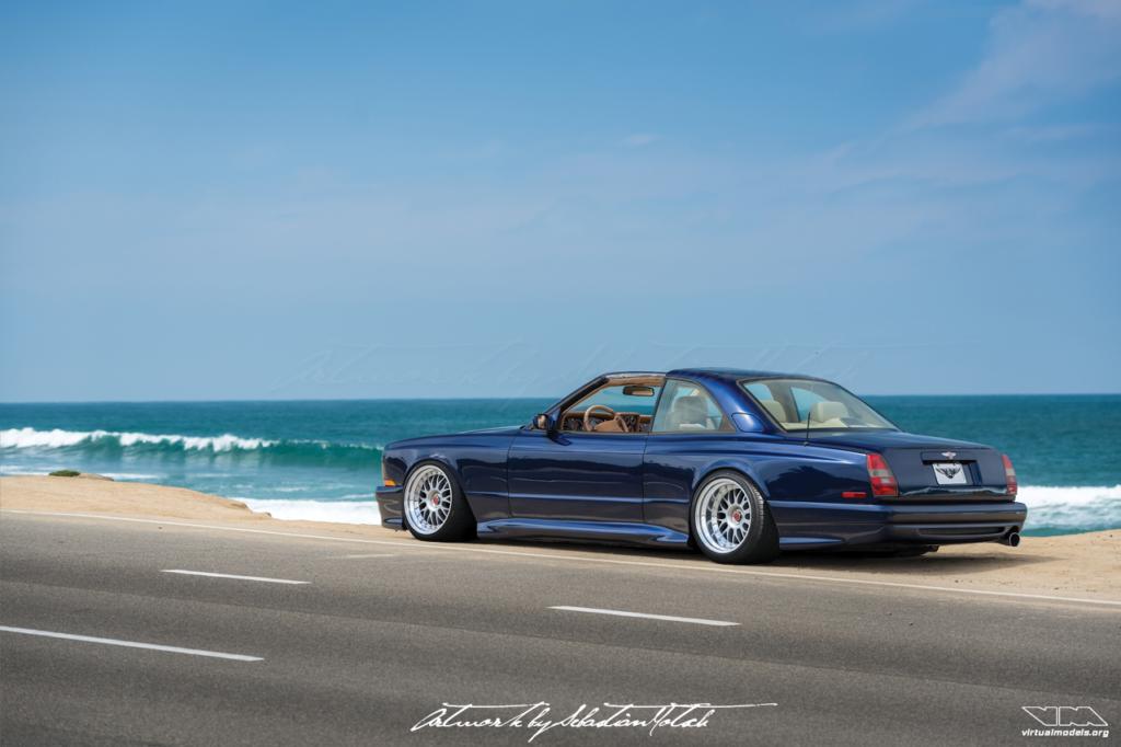 Bentley Continental SC | Bentley Continental SC Photoshop Chop by Sebastiann Motsch (2019)