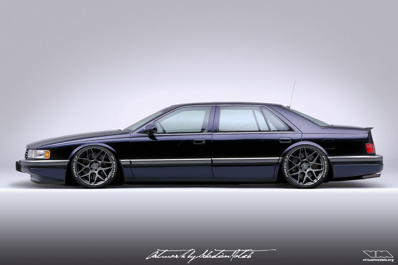 Cadillac Seville SLS Photoshop Chop by Sebastian Motsch (2019)