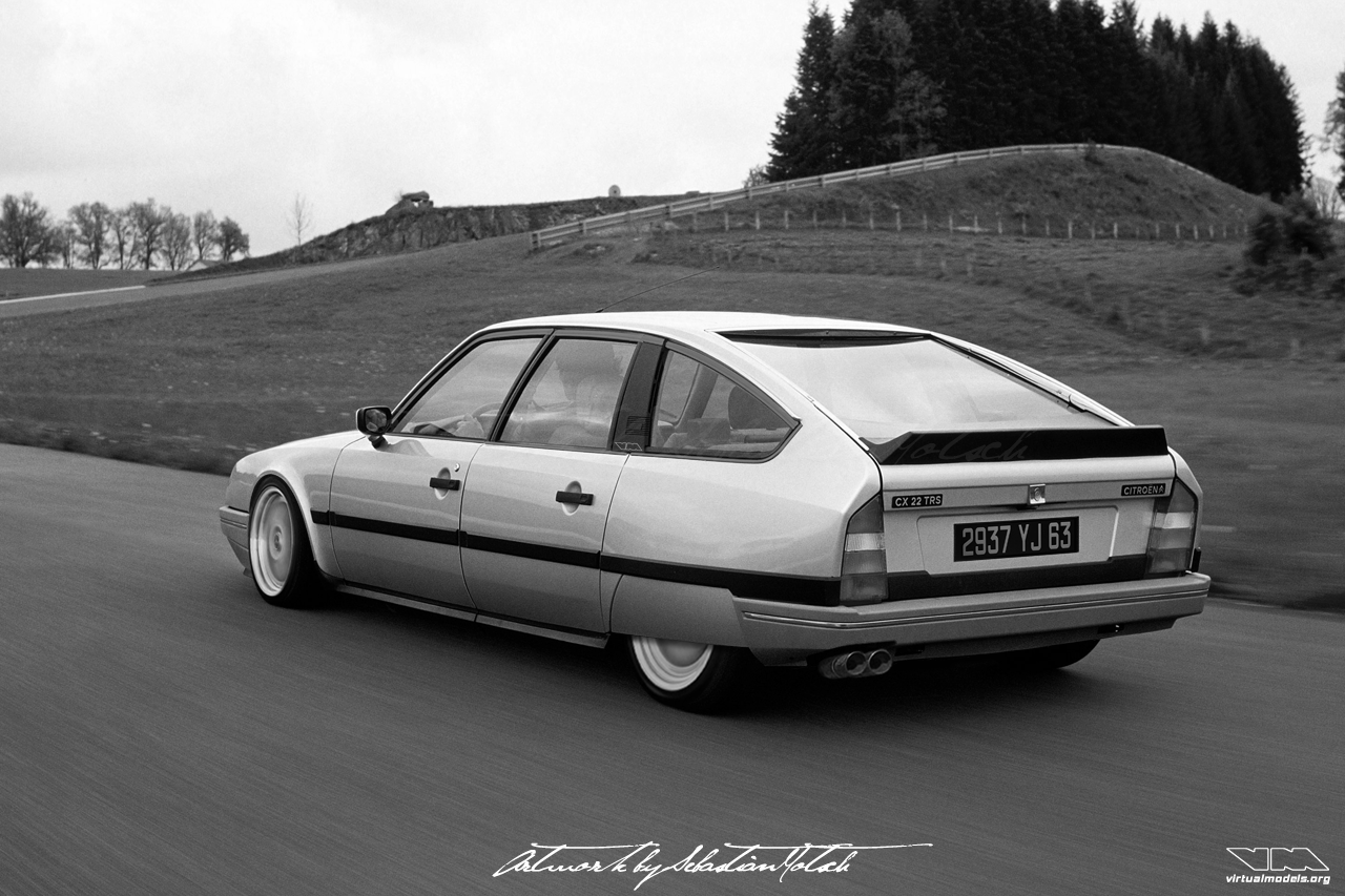 Citroen CX 22 TRS | Photoshop Chop by Sebastian Motsch (2019)