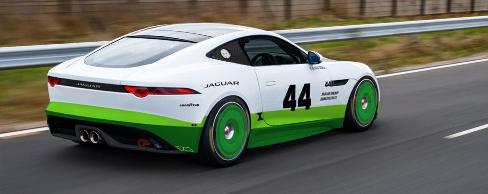 Jaguar F-Type Group 44 GT4-spec | Photoshop Chop by Sebastian Motsch (2019)