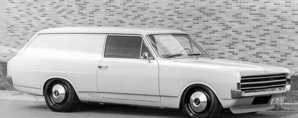 Opel Rekord C Lieferwagen Van | Photoshop by Sebastian Motsch (2019)