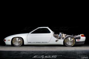 Porsche 928 LSR Bonneville Land Speed Record   photoshop chop by Sebastian Motsch (2019)