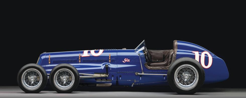 Sparks-Thorne Little Six 6-Wheeler Racecar Tyrell P34 | photoshop chop by Sebastian Motsch (2019)