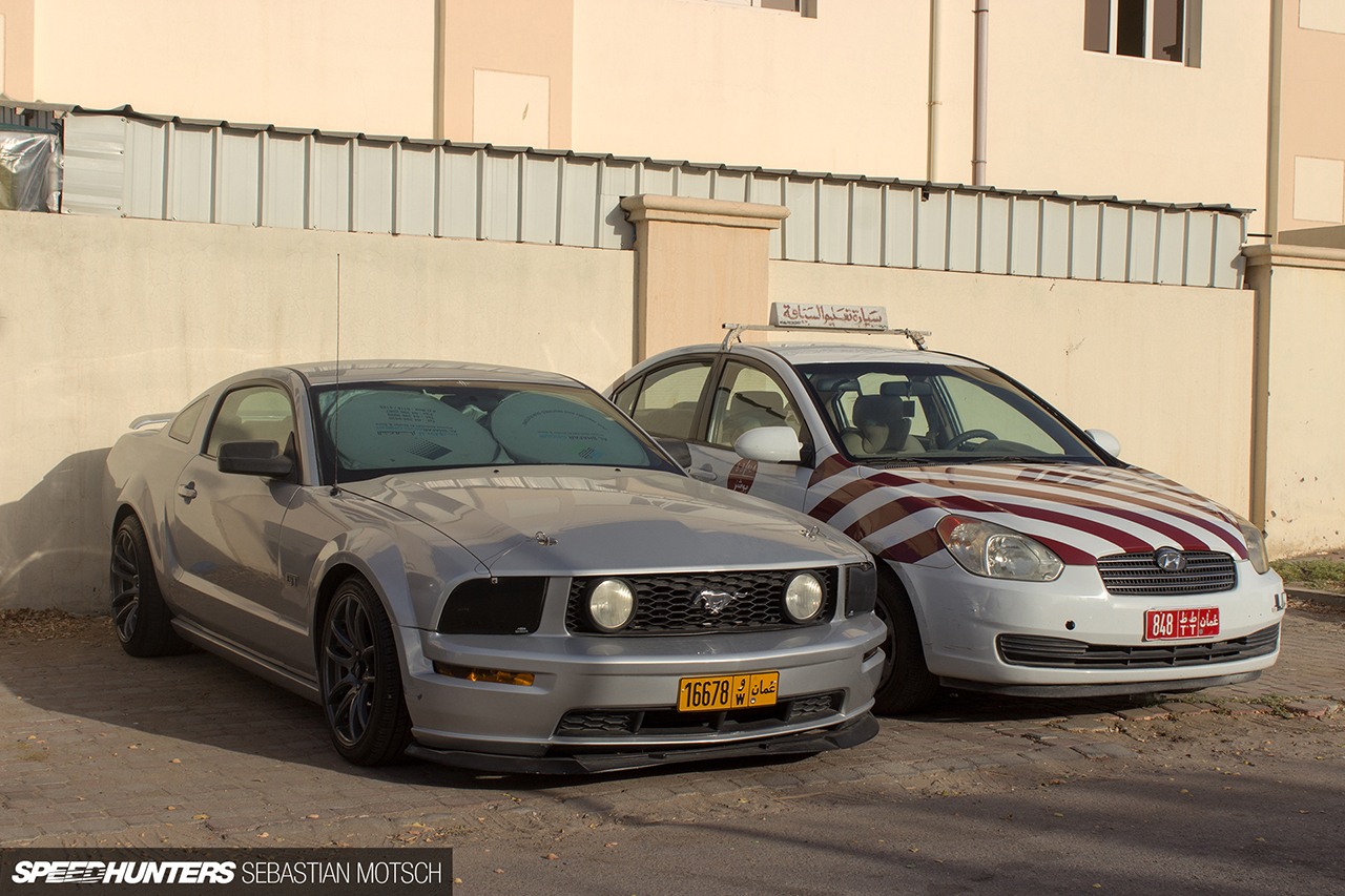 Speedhunters-Ford-Mustang-and-Hyundai-Accent-Driving-School-Car-in-Oman-by-Sebastian-Motsch