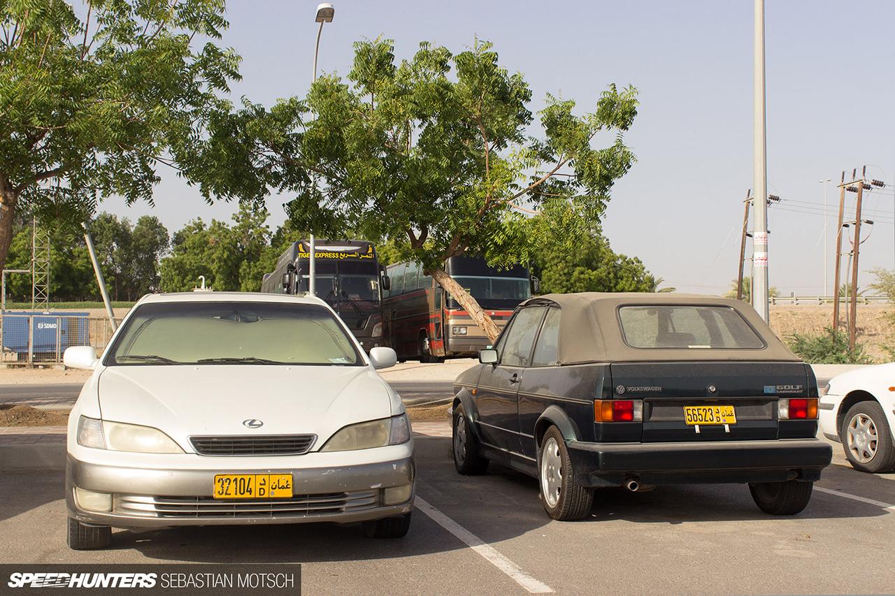 Speedhunters-Lexus-ES-and-VW-Golf-Cabrio-in-Oman-by-Sebastian-Motsch