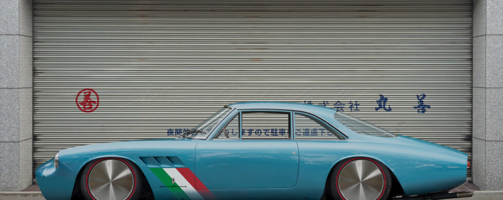 Ferrari 500 Superfast Bonneville LSR parked in Japan Tokyo by Sebastian Motsch