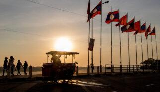 Laos Vientiane Sunset Photography by Sebastian Motsch