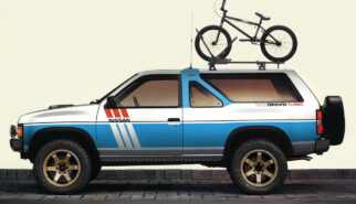 Nissan Terrano Turbo Pathfinder TE37 Photoshop Chop by Sebastian Motsch (2019)