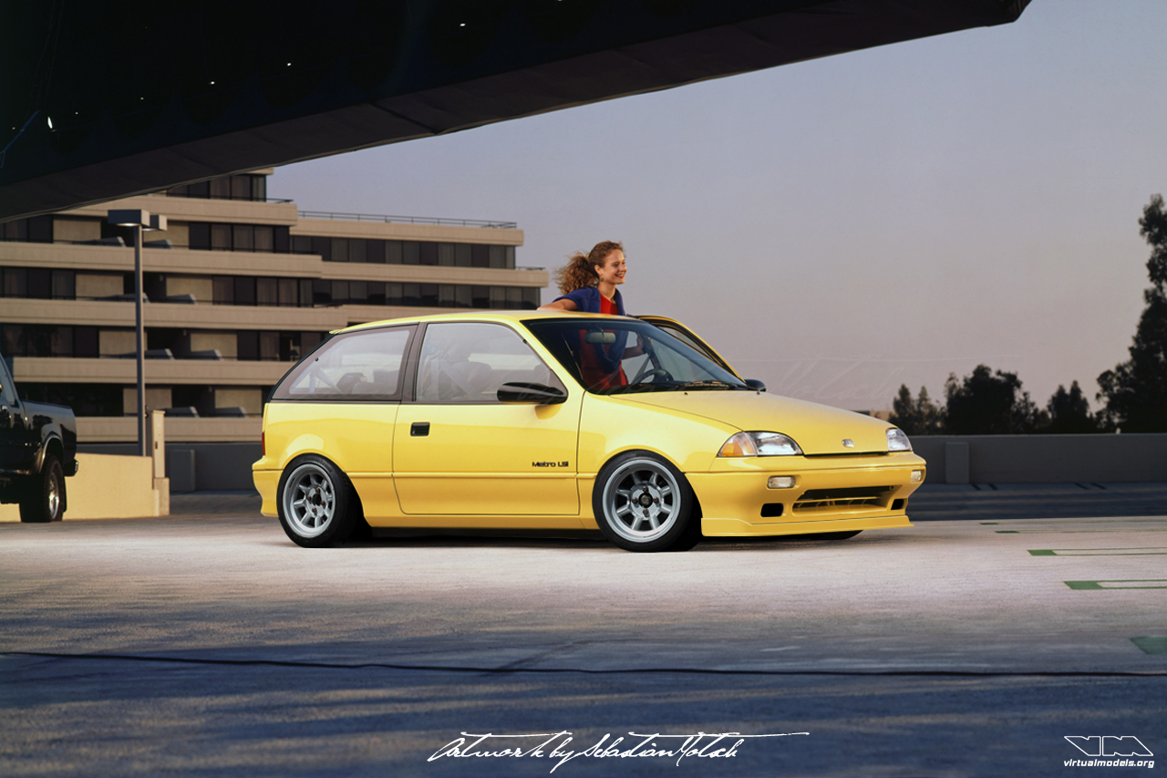 Suzuki Swift Geo Metro Photoshop Chop by Sebastian Motsch (2019)