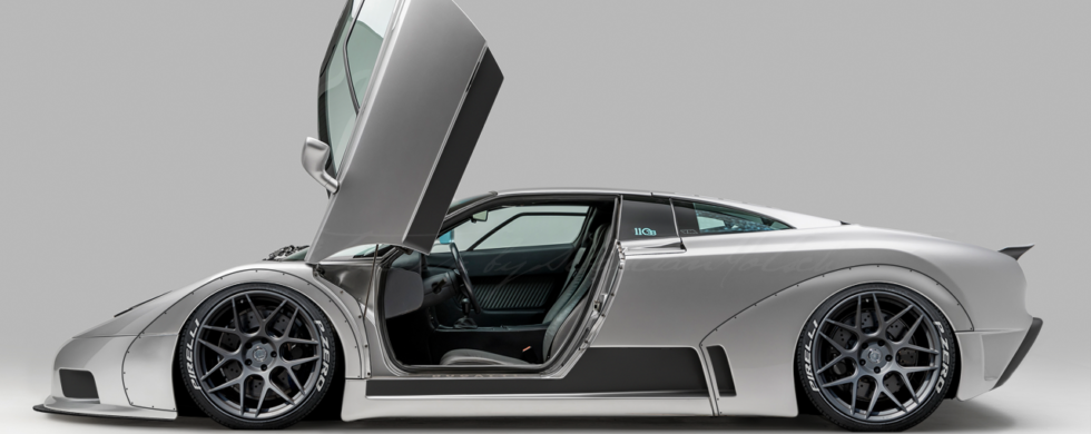 Bugatti EB110 Widebody Conversion | photoshop chop by Sebastian Motsch (2018)