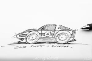 SAAB Sonett III Race Car   Photoshop Chop by Sebastian Motsch (2019)