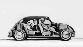Volkswagen Beetle Käfer | photoshop chop by Sebastian Motsch (2018)