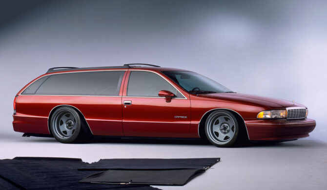Chevrolet Caprice 2-Door Station Wagon Nomad by Sebastian Motsch