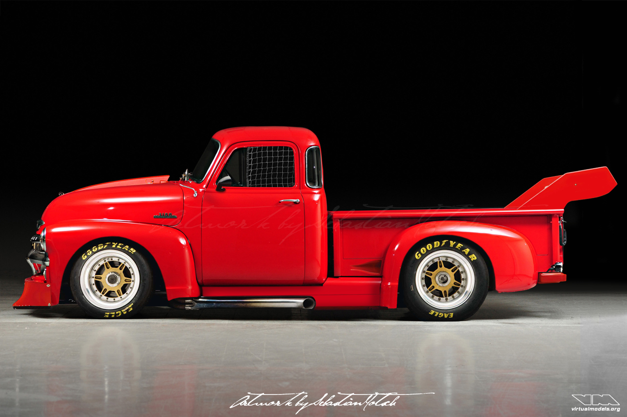 Chevrolet 3100 Pick-Up NASCAR by Sebastian Motsch