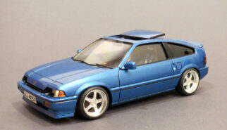 Honda CIVIC CRX AF Scale Model by Sebastian Motsch