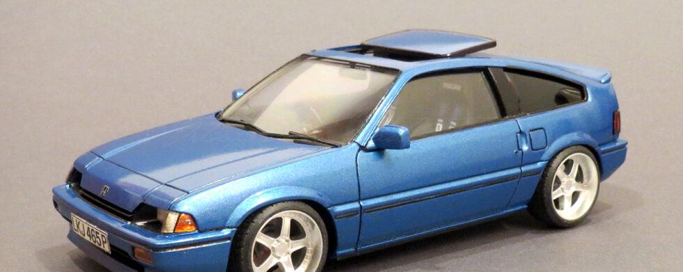 Honda CIVIC CRX AF Scale Model by Sebastian Motsch