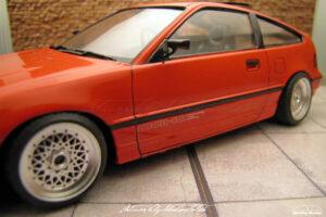Honda CIVIC CRX ED9 Scale Model by Sebastian Motsch