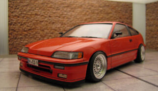 Honda CIVIC CRX ED9 Scale Model by Sebastian Motsch
